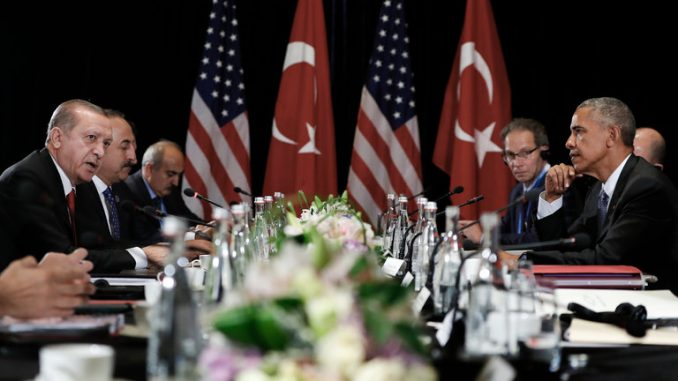 Turkey's leader Erdogan accuses US of supporting ISIS