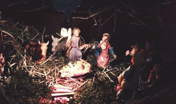 The nativity scene could offend the town's population of four Muslims, it has been claimed.