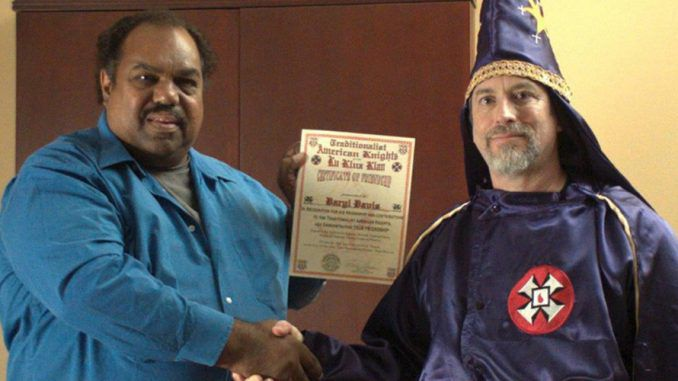 A Chicago man has an unusual way of combating racism: he makes friends with members of the Ku Klux Klan (KKK).