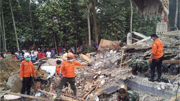 Nearly 100 Dead After 6.5 Earthquake Strikes Indonesia
