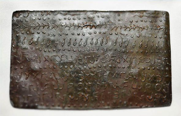 The Jordanian tablets were confirmed to date 2,000 years back.