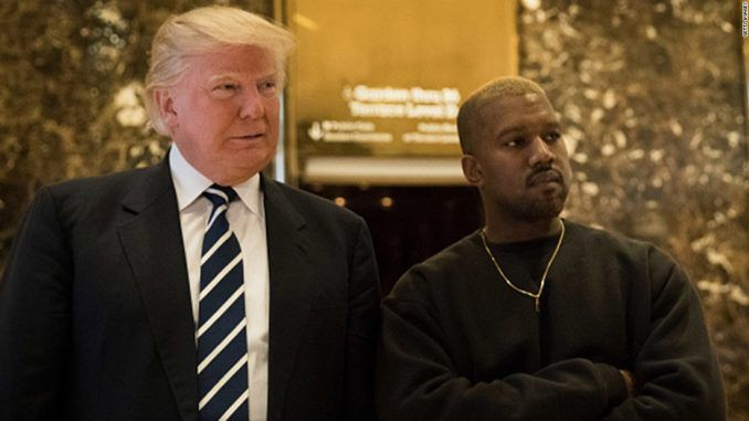 Kanye West meets Trump who vows to protect the singer against his illuminati handlers
