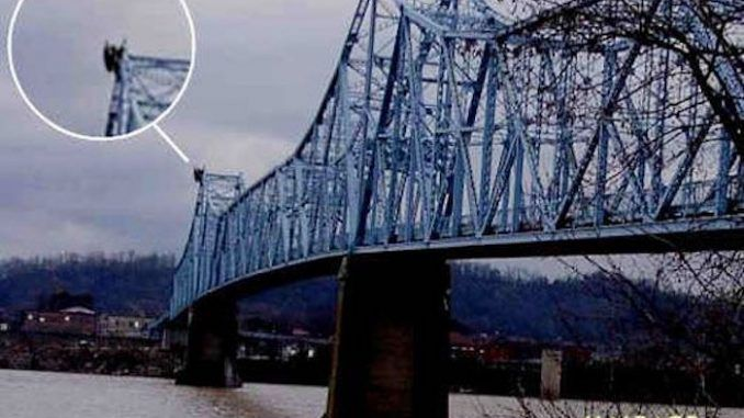 Mothman captured on camera in Virginia