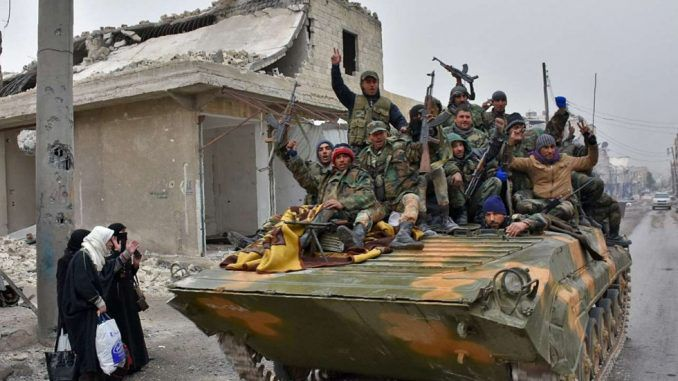 Over Half Of East Aleppo Now Under Control Of Syrian Govt Forces