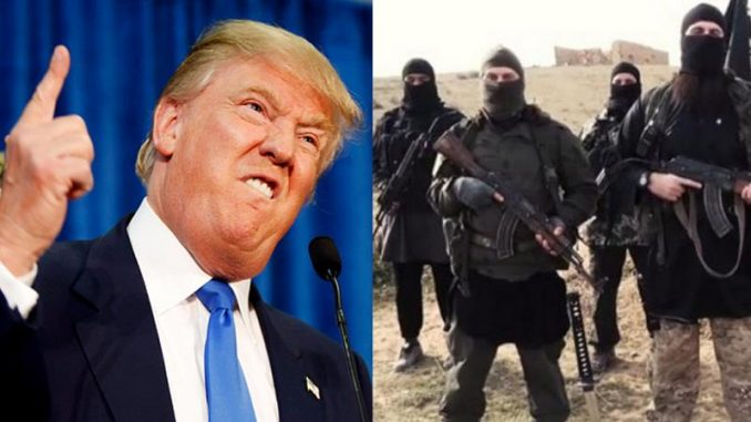 Donald Trump is drafting a new budget that will completely exclude ISIS from being funded by the US
