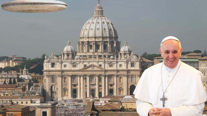 Vatican announce that UFO and alien disclosure is just months away