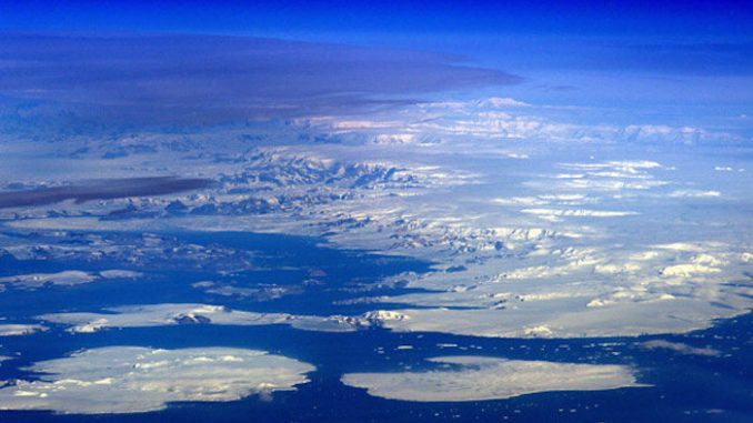Photo's released by NASA appear to vindicate the conspiracy theory that an ancient civilization exists beneath the Antarctica ice sheets.
