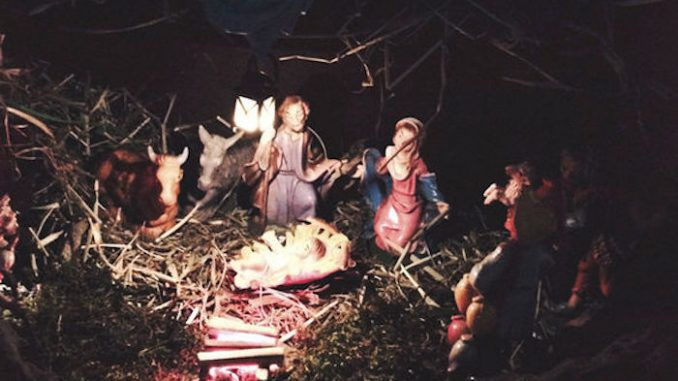 A nativity scene of baby Jesus has been banned in case it offends one of the FOUR Muslims living in a Belgian town.