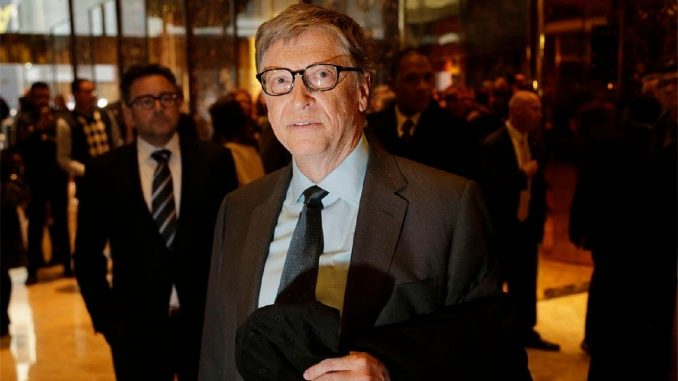 Bill Gates hints that Trump could be assassinated just like JFK