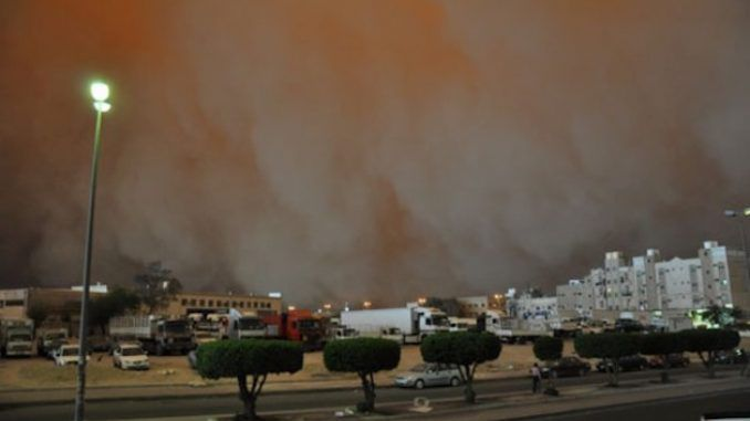 """A """"bio warfare"""" storm has killed 5 people in Kuwait just days after a similar storm hit Australia killing 6 and leaving thousands hospitalized"""