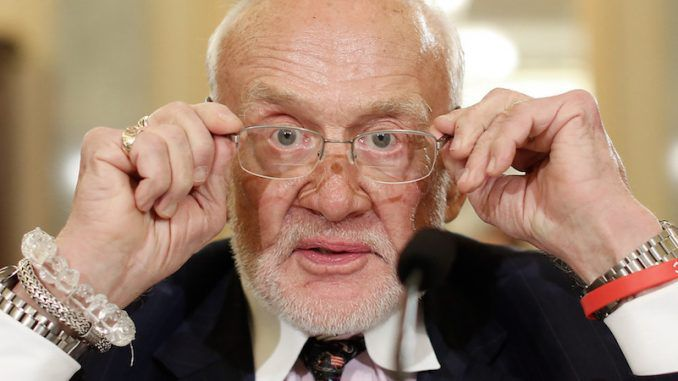 """Buzz Aldrin tweets mysterious warning """"we are all in danger"""""""