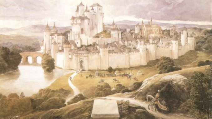 Retired Professor May Have Found King Arthur's Camelot