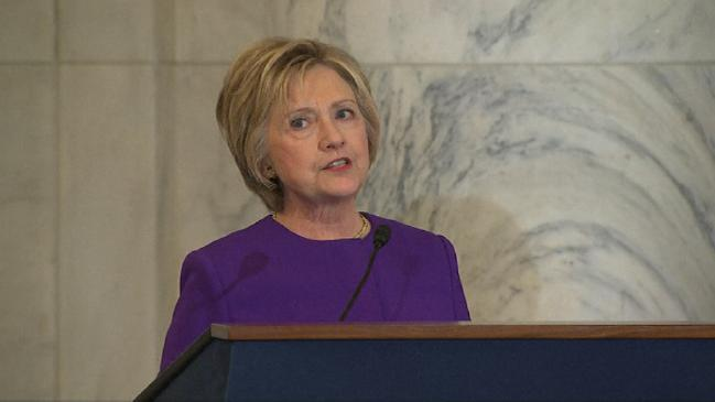 """Clinton Tells Congress To Take Action Against 'Epidemic Of """"Fake News"""""""