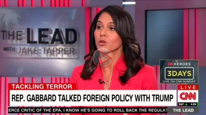 Congresswoman tells CNN that American government funds both ISIS and Al Qaeda