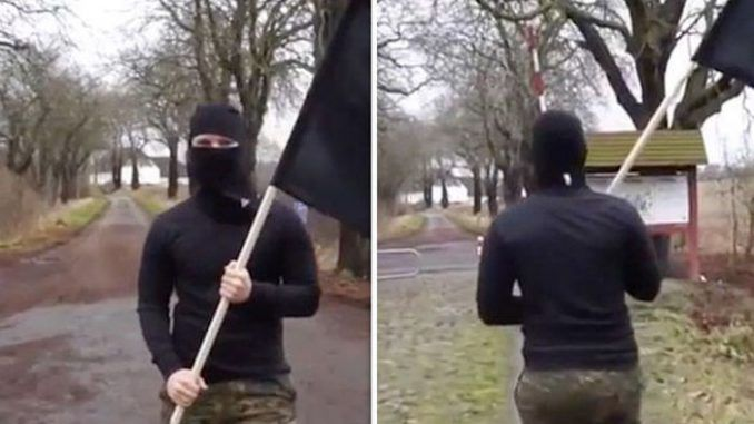 A Danish man dressed up as an ISIS fighter and filmed himself crossing the border into Germany multiple times - and not once was he stopped or questioned by authorities.
