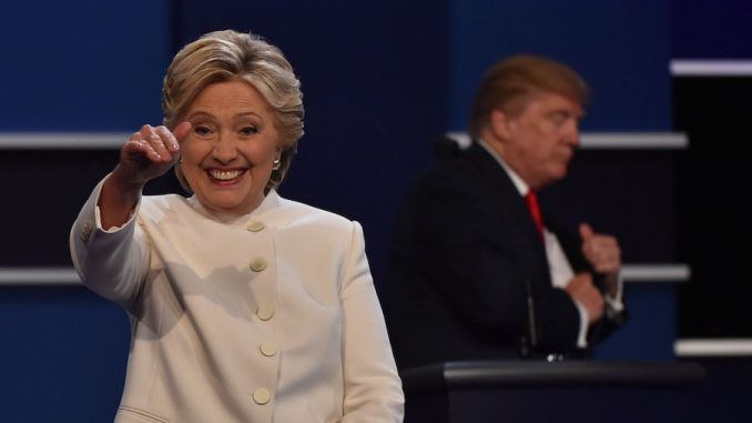 Hillary Clinton's carefully concocted plan to accuse Russian hackers of helping Donald Trump win the election was openly hinted at during the third and final debate.