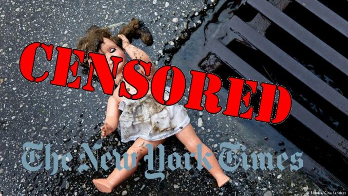 New York Times caught censoring Norway pedophile ring story