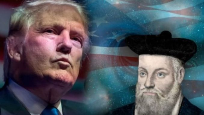 Nostradamus suggests 2017 will be a year of massive change and turmoil - and from what can be determined so far, his prophecies are already coming true.