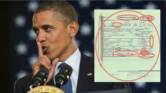 Sheriff Arpaio confirms that Barack Obama birth certificate is a forgery