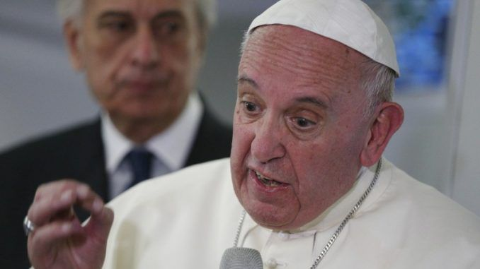 "Pope Francis has launched a vicious, scathing attack on American alternative media, labelling them ""sh*t eaters."""