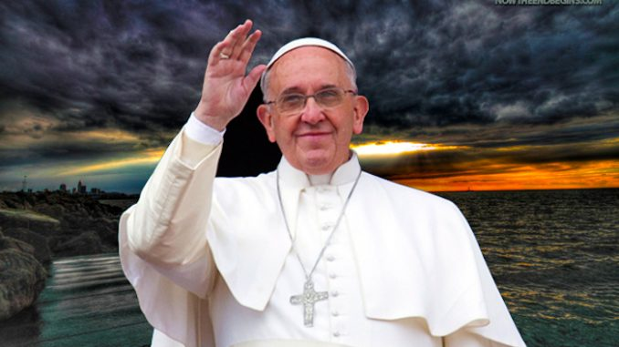 Vatican orders preists to propagate man-made global warming myth