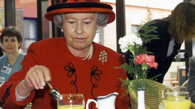 Queen Elizabeth and the Royal Family are descended from a long line of cannibals.