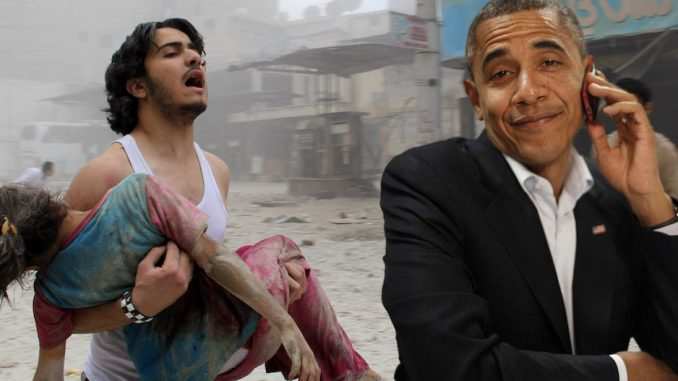 Obama expels Russian doctors who were treating injured Syrian children