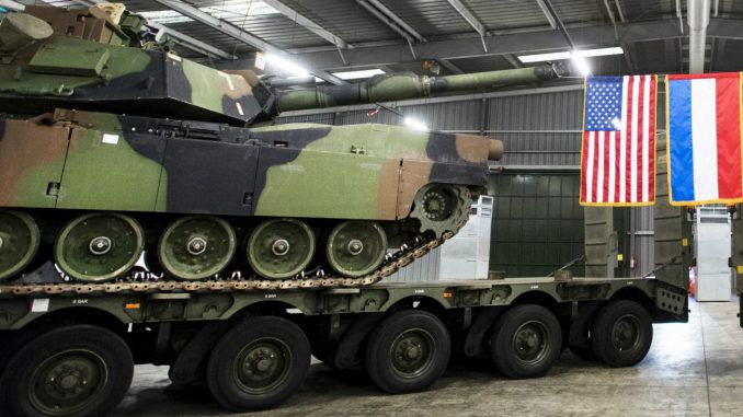 US Sends Tanks To Netherlands To Bolster NATO Against Russia