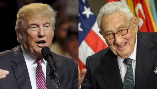 Kissinger Says Give Trump A Chance