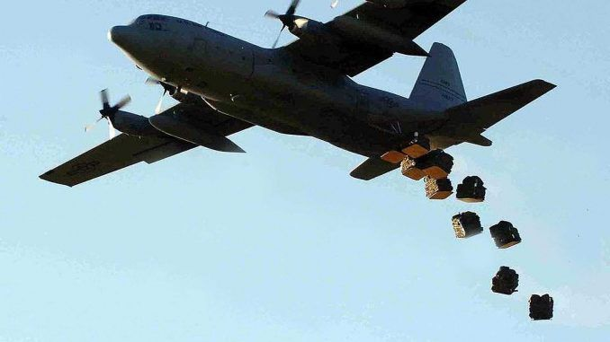 US & UK Considering Aid Airdrops In Syria