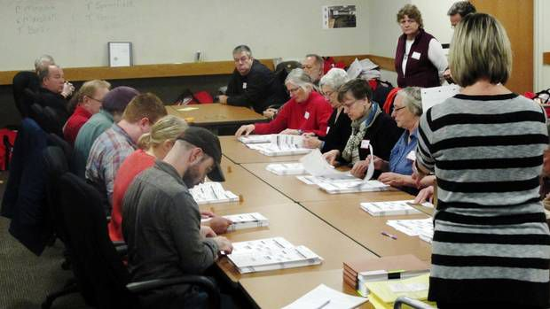 Federal Court Rejects Bid To Halt Vote Recount In Wisconsin