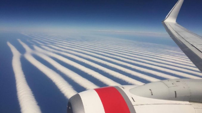 Australian meteorological office has been caught covering up chemtrails