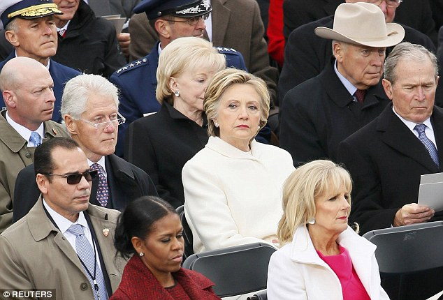 The defeated Democrat sat stone-faced last Friday as Donald Trump was sworn in as president, and wants another bite at the apple.