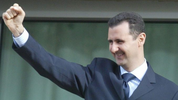 """Assad has vowed to liberate """"every inch"""" of Syria from the control of the New World Order"""