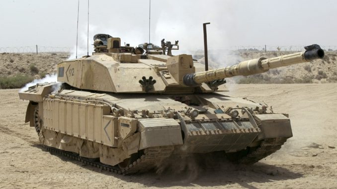 British tanks deployed through Channel Tunnel to prepare for war with Russia
