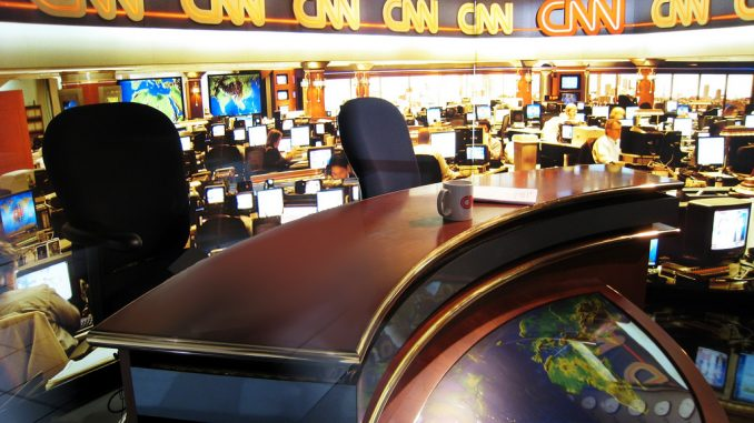 According to a nationwide Rasmussen poll, CNN are now the least trusted news network in the United States.
