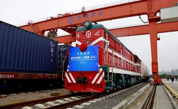 China Launches Weekly Freight Rail Service Direct To London
