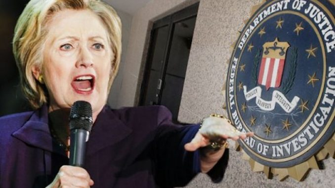 New Wikileaks emails show that Hillary Clinton bribed FBI investigators to cover-up classified data breach