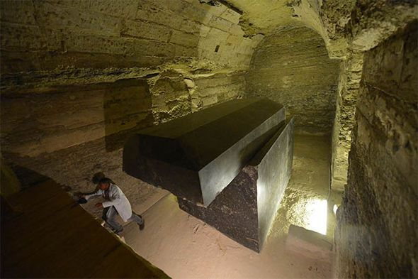 It remains a mystery how the ancient culture were able to carve such huge and accurate sarcophagi