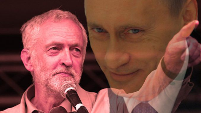 Labour leader Jeremy Corbyn accused of being a Russian spy