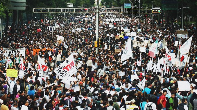 Mexico is on the brink of revolution with millions rising up against a corrupt, ineffectual government and storming border crossings.
