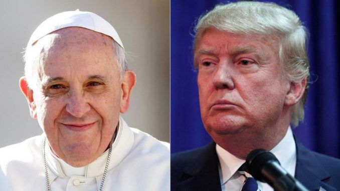 Pope Francis attacks President Trump by calling him 'Hitler'