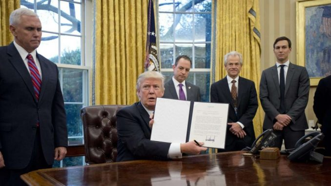 Trump Withdraws US From Trans-Pacific Partnership