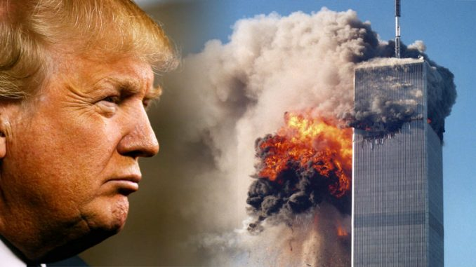 "The World Trade Center was destroyed by ""twin bombs"" on 9/11, claims Trump - and a whistleblower has provided supporting information."