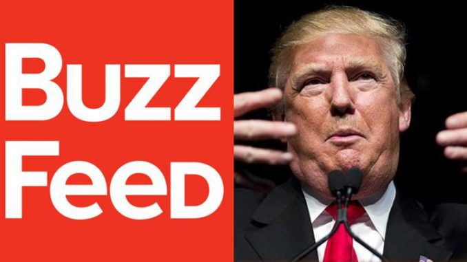 Trump administration consider investigating Buzzfeed for publishing 'fake news'
