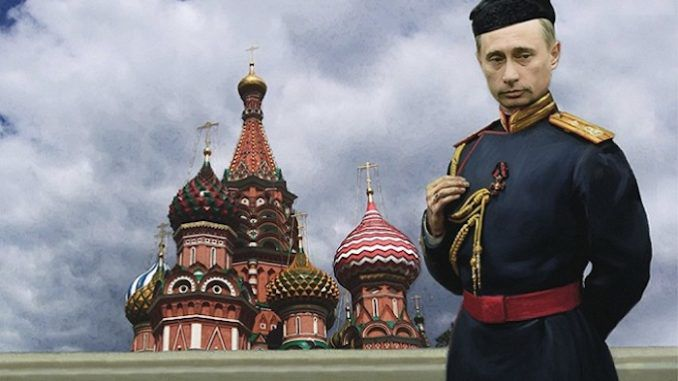 Vladimir Putin could be made into a Royal Tsar in preparation for a Holy War