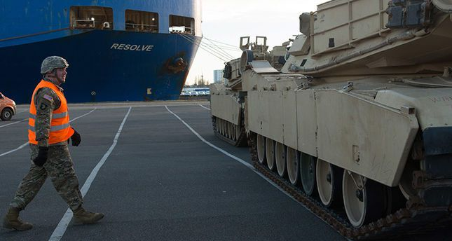 US Tanks Arrive In Germany To Support NATO Anti-Russian Buildup