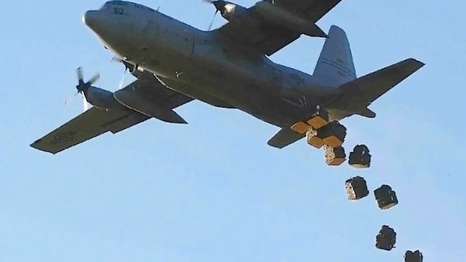 US Increases Weapons Airdrops To Opposition Forces in Syria