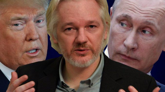 Julian Assange confirms that Russia were not responsible for the DNC email hack