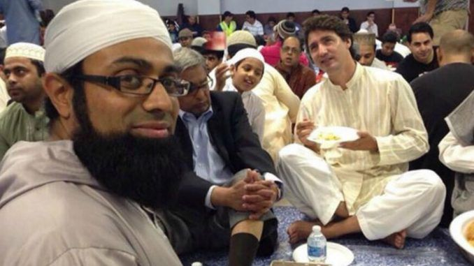 Prime Minister Justin Trudeau announced the start of an open door migrant policy, welcoming all Islamist migrants to Canada.